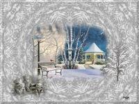 Paysage d hiver 2